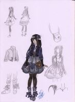 Contest time: Tsuki's clothing by Kaionalpaca