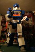 Transformers Soundwave Costume by AutobotMedic