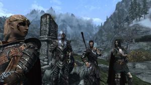 Meet the (Skyrim) Family 1 by ErebusRed