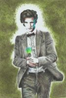 Eleven (coloured pencil sketch) by GermanCompanion