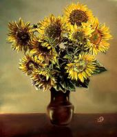 Sun flowers 3 by Annabella55