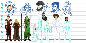 Exalted people height chart by Warshield22
