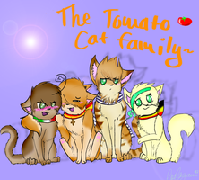 Request 2 Tomato Cat Family by askspaineko