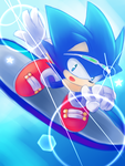 One Hour Sonic - shooting star by natsu-no-hi