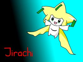 Jirachi (Colour Version) by OvenMittensForGandhi