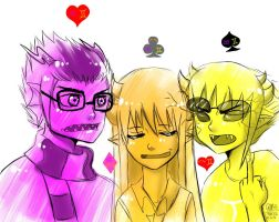 sollux eridan and chaly by Gresta-GraceM