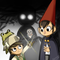 Over the garden wall by Kupomoty