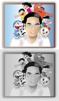 Me and Doraemon by swarafun