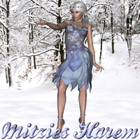 Chrystalline: Ice Princess by MitziesHarem