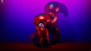 BayMax 3D - Render Final by Unreal-Forever