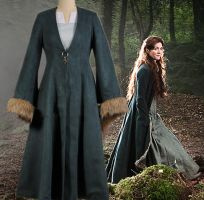 Game of Thrones Cosplay Catelyn Stark  Dress Costu by Jessical1