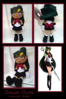Doll- Sailor Pluto FOR SALE by phychoticsilence