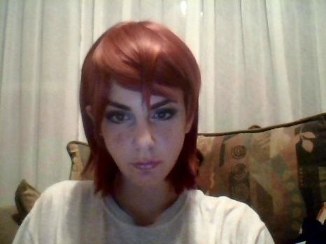 FemShep makeup test by electric-waffle