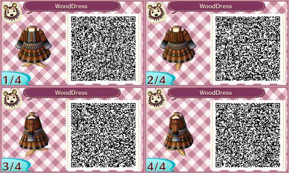 Qr code animal crossing favourites by kilagu on deviantart for Wood floor qr code animal crossing