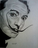 Salvador Dali by SrOller