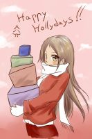 Happy hollydays by uyuni