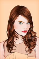 Emma Stone by firmacomdesign
