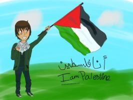 Aph:I am Palestine by SosoSurprise