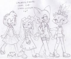 casually formal sonic girls by lucas420