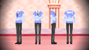 [MMD] Ouran School Suits by luckygirl88