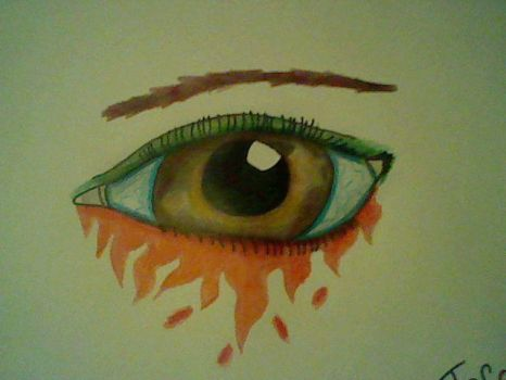 Colored Eye by TeraZyy