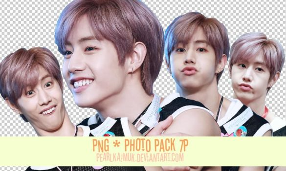 PNG PACK MARK GOT7 by pearlkaimuk