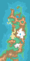 [Region Map] The Tohoku Region by Red-Gyrados