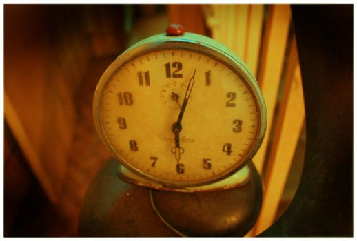 miss daines' alarm clock by Lawrence0-o