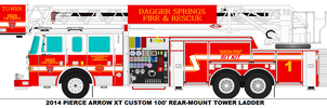 Dagger Springs Fire Dept. Tower 1 by MisterPSYCHOPATH3001