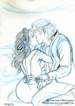 Rhaegar and Lyanna Sketch by Verlisaerys