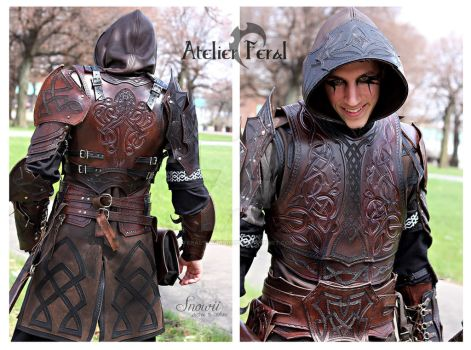 Kraken armor set by Feral-Workshop
