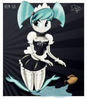 """Maid XJ9"" Color version by GodzillaJAPAN"
