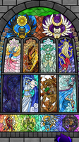 Devotia Stained Glass Deities by Kosumosu