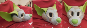 2nd Fursuit WIP - Foam base (stage 2) by Swarthylacine