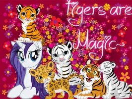 Tigers are Magic! by UnicornRarity