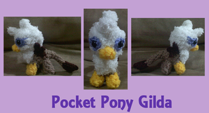 Pocket Pony Gilda the Griffon by XantheStar