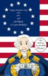 President's Day 2015 (George Washington edition) by N-City