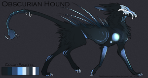 Obscurian Hound :custom: by TheShadowedGrim