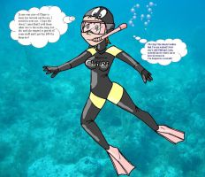 Tina's new wetsuit by Redflare500