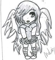 Request: Melody chibi by Holographic-Neku