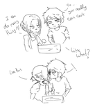 Ehhh beware with the cake by PitchySoldier