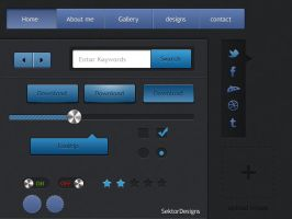 User-interface GUI by slayerD1