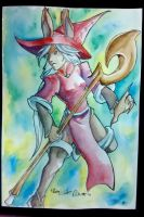 Red Mage Final Fantasy Tactics by dragon-illution