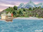 Scenery - Private Beach by deexie