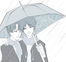 stay under my umbrella by theLoneSky