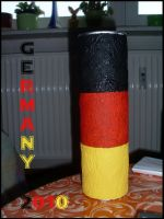 Germany Paintbrush Box by TheFlyingHeart