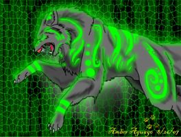 Matrix Wolf by PinkScooby54