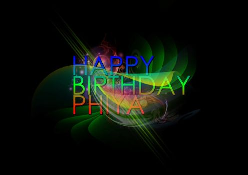 Happy Birthday Phiya by lovesickformina