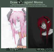 Draw Del again!1 by PigeonChest