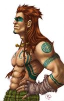 Cuchulainn by effix35